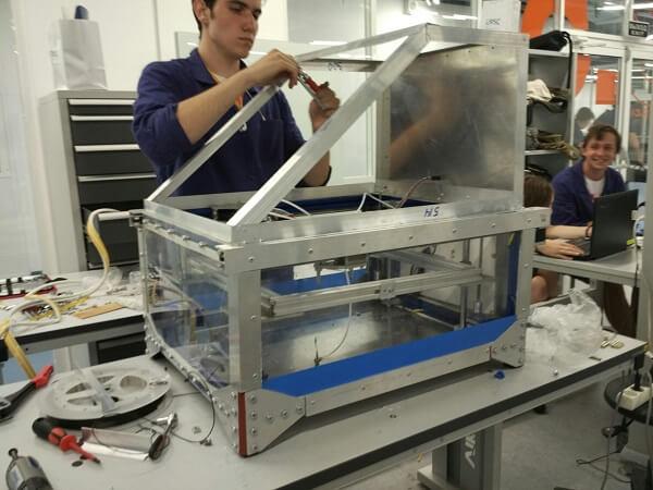 Разработка отечественного космического 3D-принтера