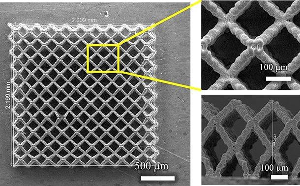 Достигнут прорыв в технологии 3D-печати полых электродов для батарей