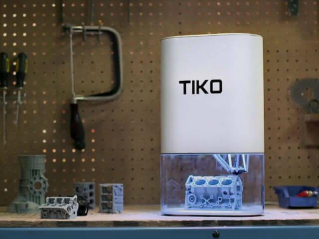 Новый дельта-принтер TIKO