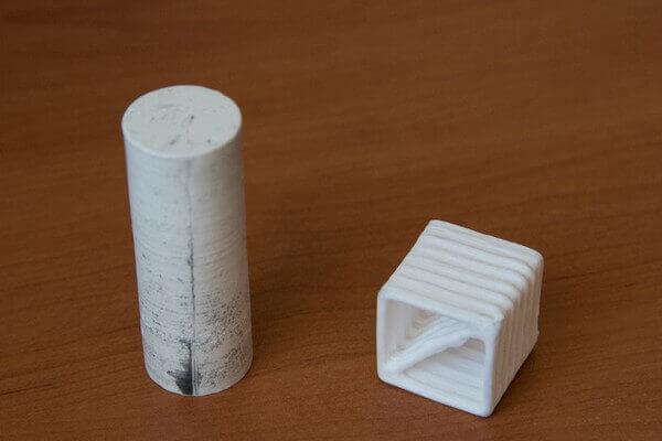 Суспензия для печати на 3D-принтере и лабораторный образец изделия из оксида алюминия