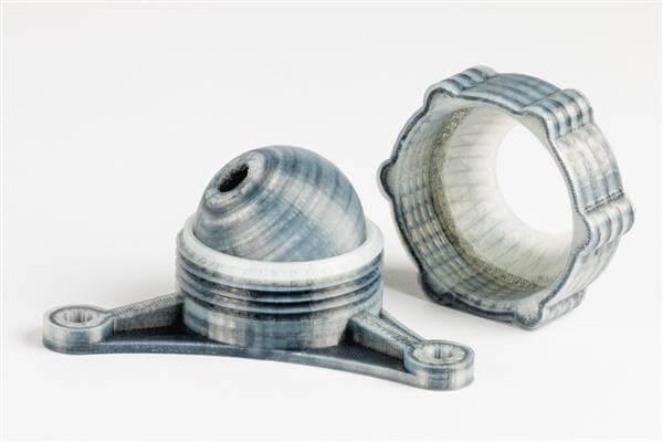 Нейлон для 3D-печати с содержанием кевлара, стекло- и углеволокна