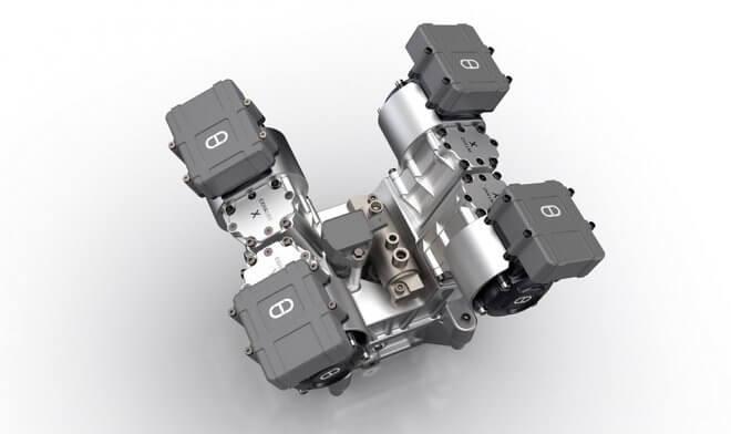 Технология позволить использовать прогрессивную компоновку с разделением цилиндров вместо одного цельного блока