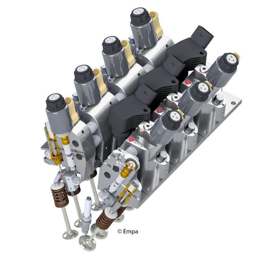 Разработан автомобильный двигатель без распредвала