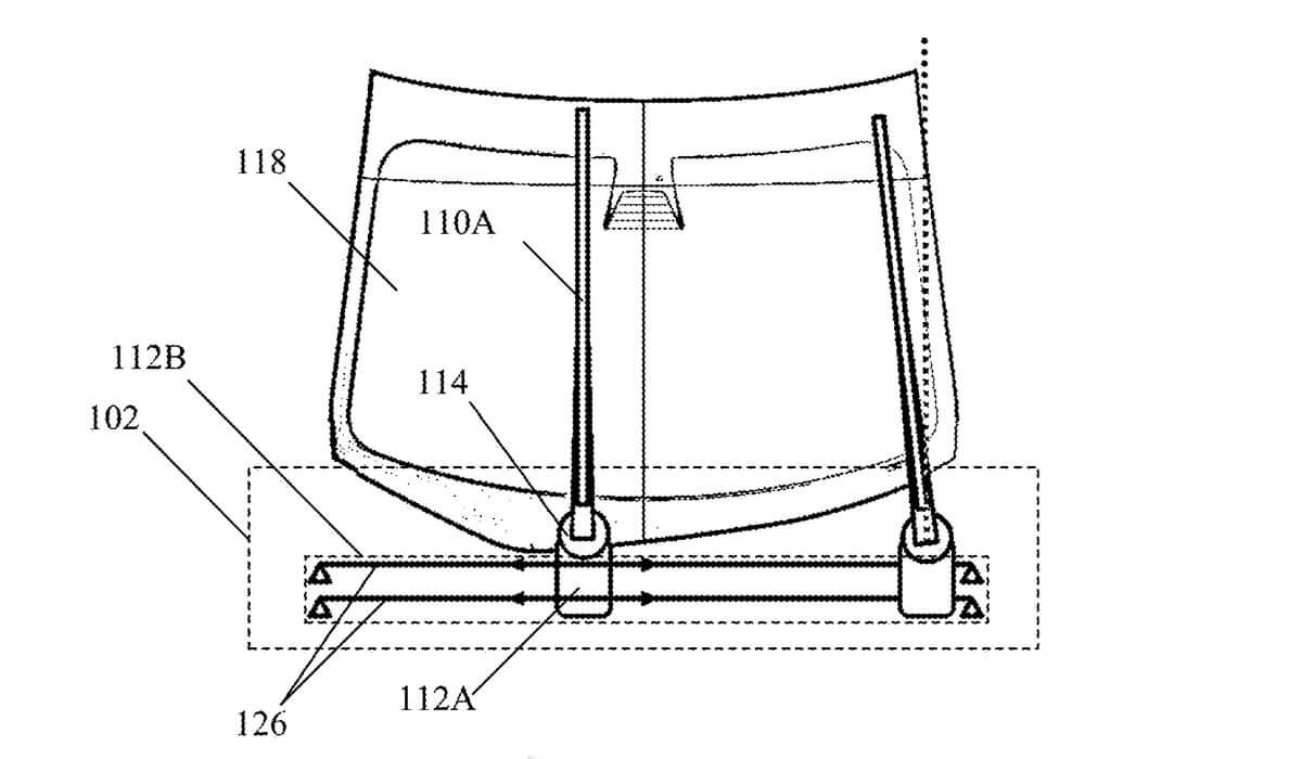 Tesla запатентовала необычный стеклоочиститель