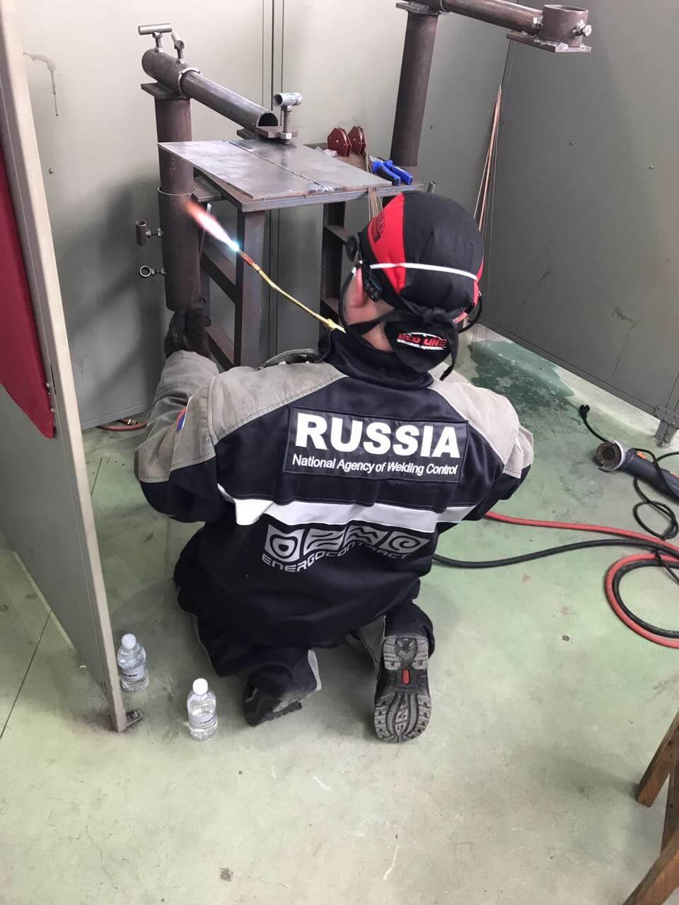 Российская сборная участвует в международных соревнования по сварке «ARC CUP-2017»