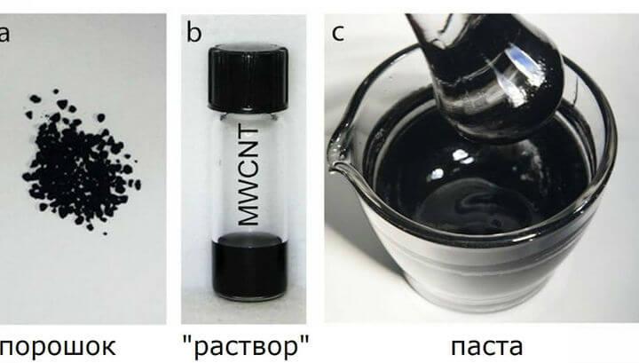 Химики научились делать пластмассу из углеродных нанотрубок
