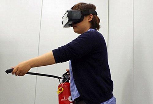 Создана система виртуальной реальности, позволяющей обучить людей действиям во время пожара