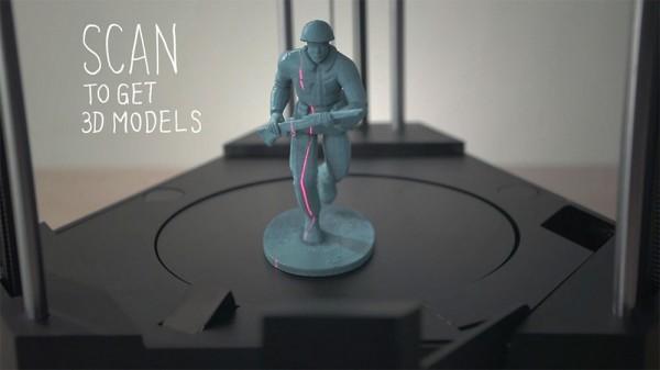 3D-принтер 3 в 1