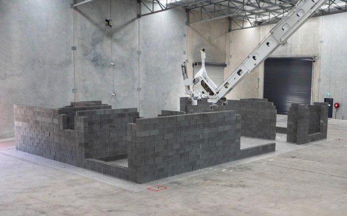 Австралийский робот построил дом в 180 квадратных метров за 3 дня