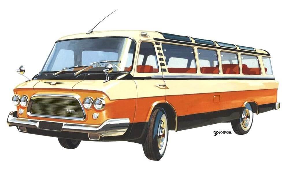 Изображения советских автомобилей Александра Захарова