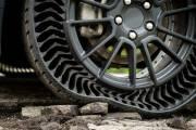 Michelin и General Motors напечатали на 3D-принтере прочные шины без воздуха