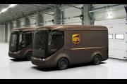 Почтовая компания UPS осваивает новые электрические грузовики