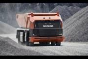 Автономный самосвал Scania