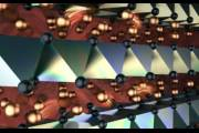 Структура суперионного кристалла CuCrSe₂ в представлении художника