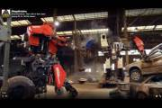 Первый в истории поединок гигантских роботов после трех раундов завершился победой американской команды MegaBots