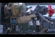Гигантские роботы сошлись в битве на гигантских ножах