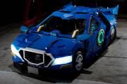 Японский трансформер превращается в настоящий автомобиль за минуту