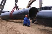 Сварено в нитку более 66% линейной части системы магистрального трубопровода