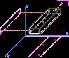 Схема базирования призматических деталей